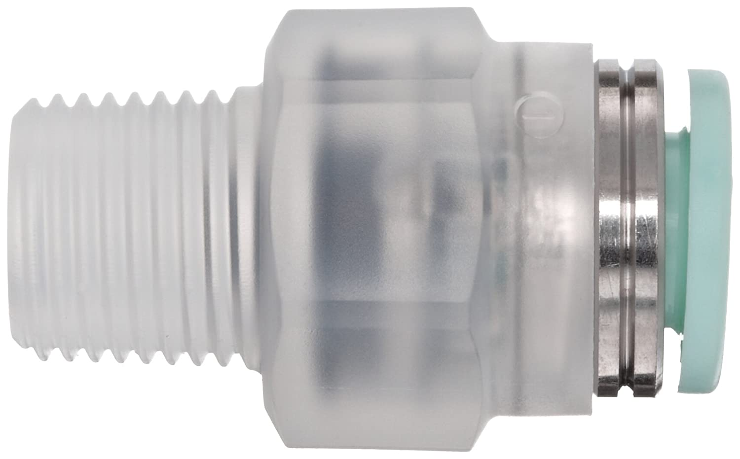 6mm Tube OD x 1//4 BSPT Male 6mm Tube OD x 1//4 BSPT Male SMC Corporation of America KPH06-02 Straight Union SMC KP Series Polypropylene Clean Push-to-Connect Tube Fitting