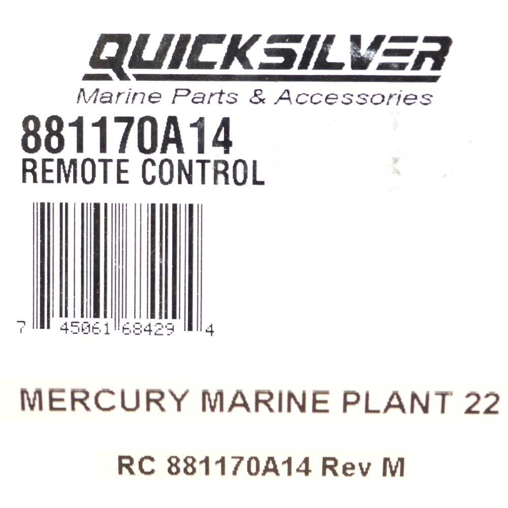 mercury quicksilver flush mount control manual