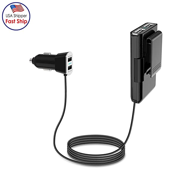 Helpful Universal Car Phone Charger 9.6a 48w 4 Usb Port Led Rapid Fast Fast Charging Socket For Iphone Samsung Xiaomi Huawei Lg Tablet Car Chargers