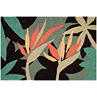 Jellybean Bird Paradise Tropical Flower Garden Area Rug 21 x 33 Inch