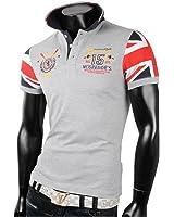 Herren Poloshirt T-Shirt Shirt 100% Baumwolle Tanktop Tank top T shirt Body