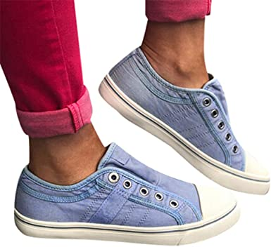 Amazon.com: Canvas Shoes for Women Wide