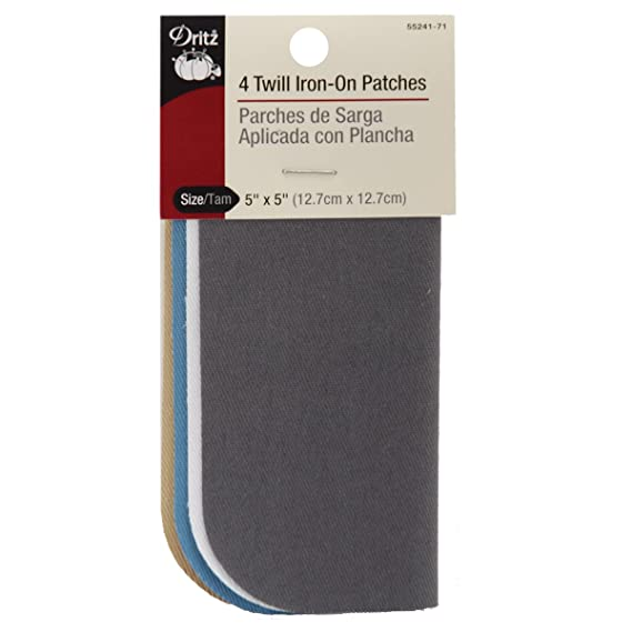 Compare to Bondex RPDIYME Iron-On 1 Repair Patch of Mending Fabric 6.5 x 14 Inch Color Khaki