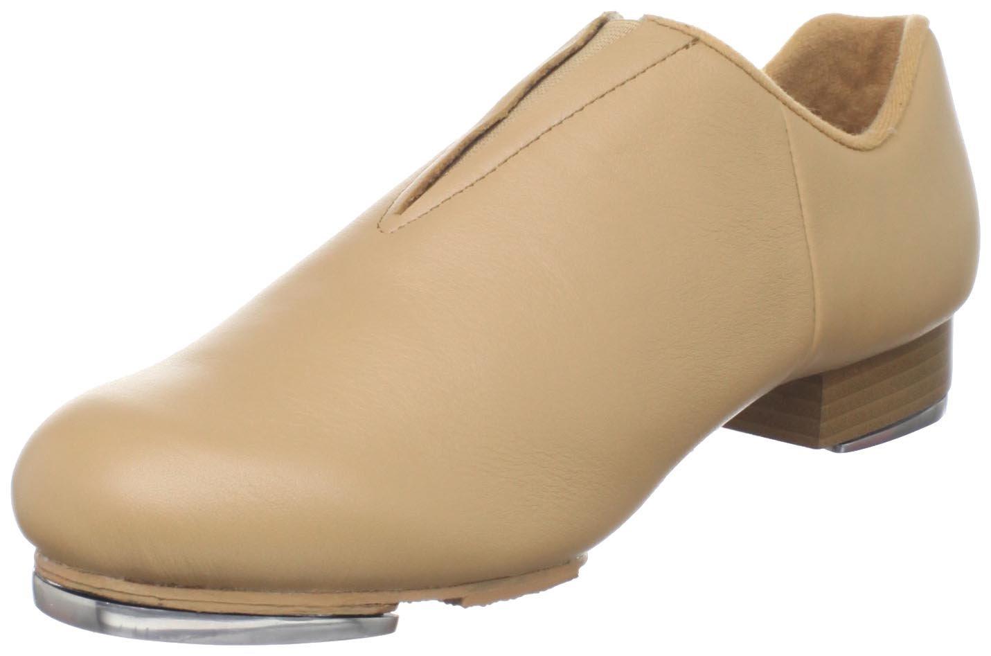 Dance Class Women's JTS601 Split Sole Jazz Tap Shoe,Caramel,6.5 M US