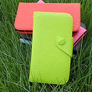ModernGut Wallet leather credit ID card purse for Apple iphone 3 3g 3gs PU leather pouch pouches case candy colors 1pcs