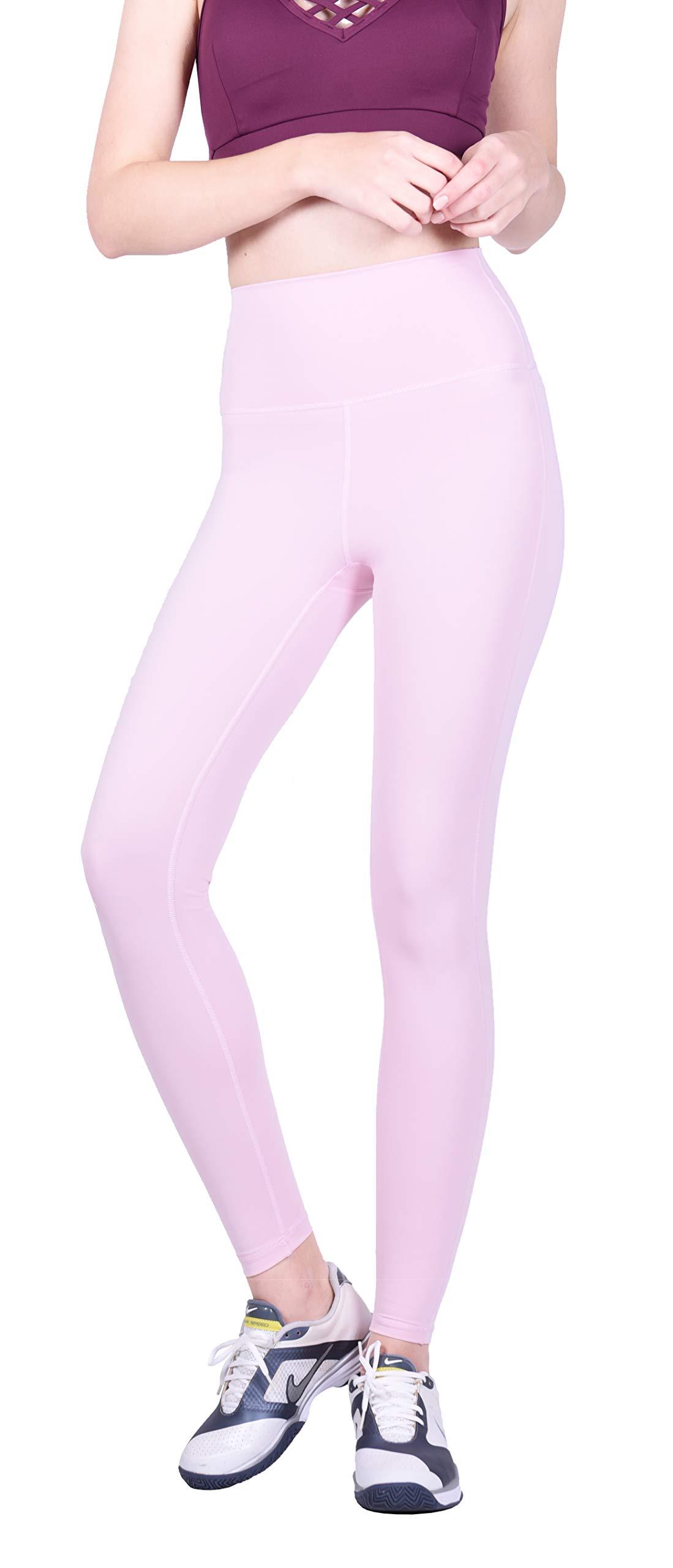 Private Island Women Swim Long Leggings UPF50+ Rash Guard Wetsuit (S, Pink) by Private Island