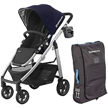 4df9416805e122 Amazon.com   UPPAbaby 2017 Cruz Stroller With Travel Bag and Cupholder