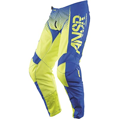 Answer Racing A17.5 Syncron Men's Off-Road Motorcycle Pants - Acid/Blue/Size 30: Automotive