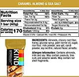 KIND Bars, Caramel Almond and Sea Salt, Gluten