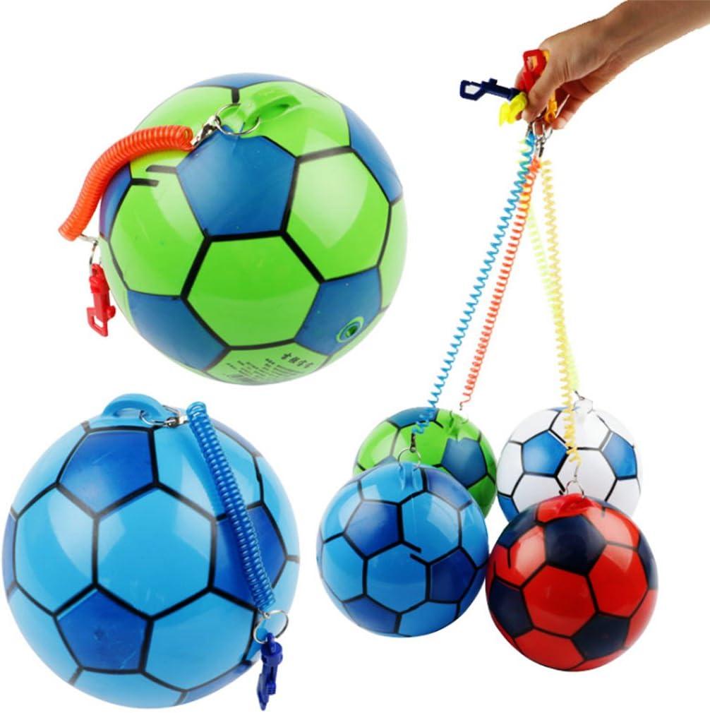 Lamdoo - Pelota hinchable con cuerda, deportiva, para niños ...