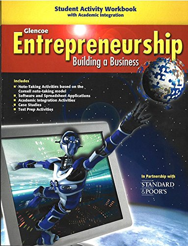 Entrepreneurship Student Activity Workbook (ENTREPRENEURSHIP SBM)