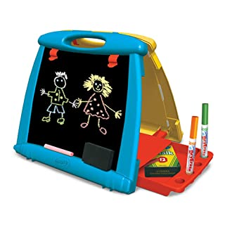 Giocattoli Educativo Piccolo tavolo da disegno magnetico Giocattolo multicolore Disegno di scrittura Doodle Schermo Disegnare forme colorate Gioco da tavolo Doodle Mobile Doodle con timbri magnetici V