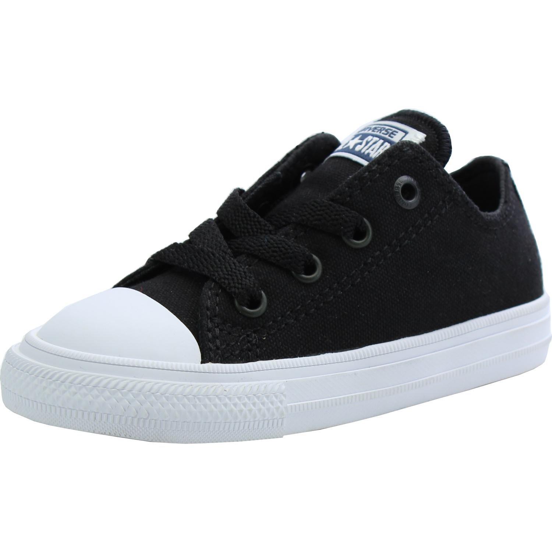 Converse chuck taylor all star ii infant black textile us infant fashion  sneakers jpg 1500x1500 Boys 231b5dc5c