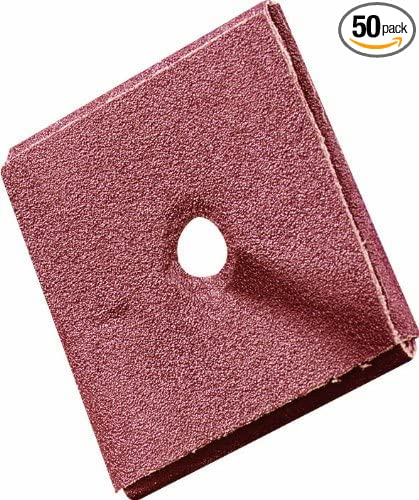 United Abrasives-SAIT 48023 2 X 3//4 1//4-20 Inch 120X Square Pad 50-Pack