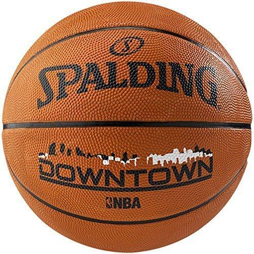 SPALDING NBA STRAßEN AUßEN SPIEL TRAINING &ÜBUNG INNENSTADT BASKETBALL GRÖßE 7 Hellbraun
