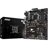 MSI Z370-A PRO, LGA 1151, VGA, DVI-D, DisplayPort, 1x M.2, 8x USB 3.1 Gen1 & 6x USB 2.0, ATX Mainboard