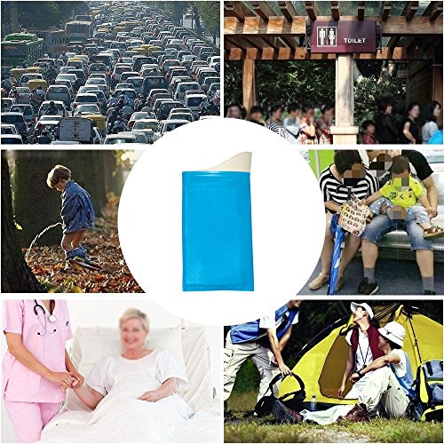 ShengTian Disposable Urine Bags Camping Pee Bags Travel Urinal Toilet Super Absorbent Traffic Jam Emergency Portable Urine Bag Pee Bags Car Toilet Men Women Children Brief Relief, 12 Pcs by ShengTian (Image #6)