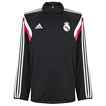 adidas Sudadera Real Madrid Negra-Blast pink  Amazon.es  Deportes y ... aab2a2f3e0271