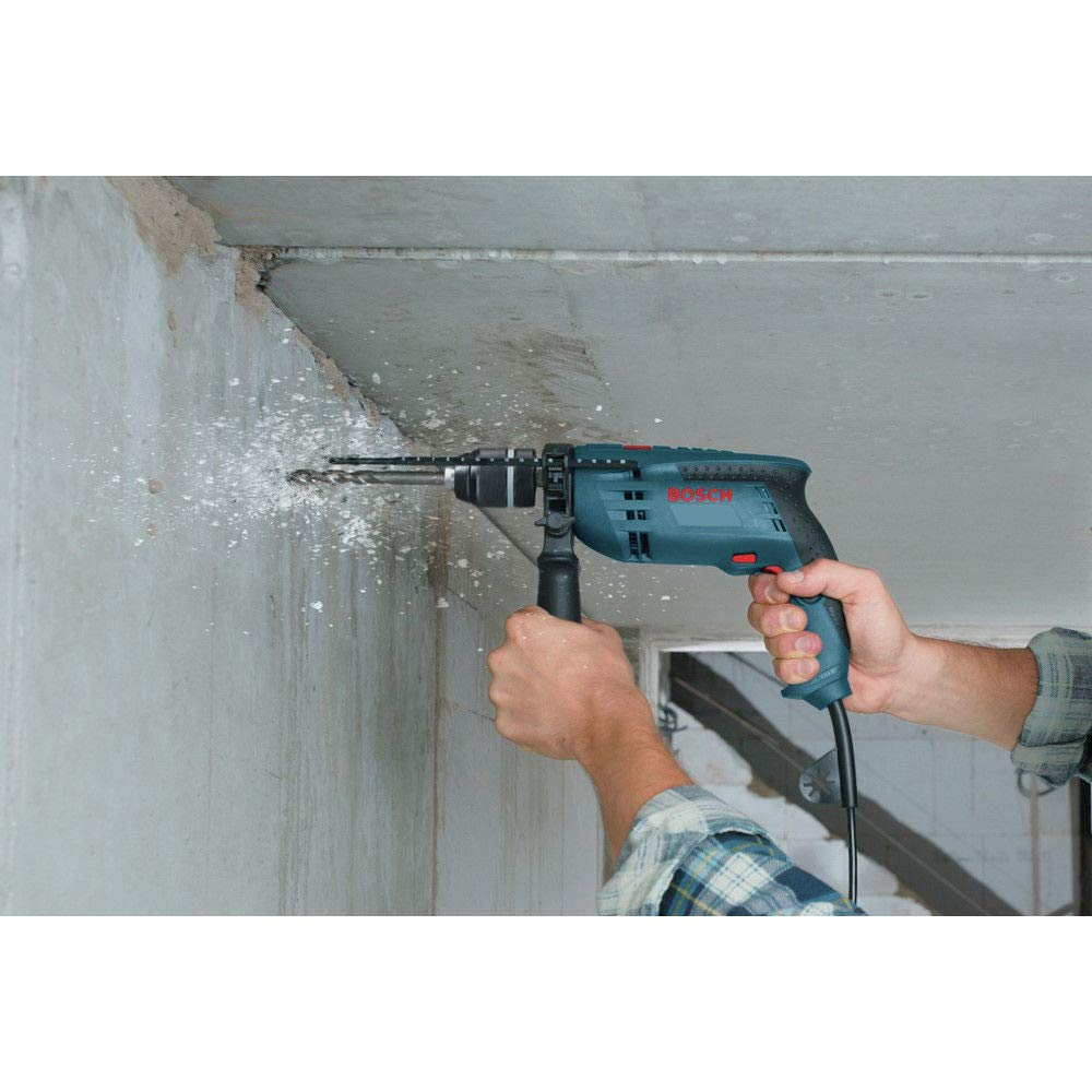 Bosch 1191VSRK-RT 120V 1/2-Inch Single Speed Hammer Drill (Certified Refurbished)