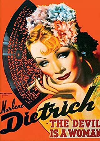 D-Toys Vintage Poster - Marlene Dietrich Jigsaw Puzzle, 1000-Piece by D-Toys: Amazon.es: Juguetes y juegos