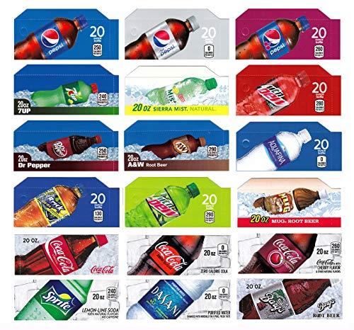 - Vending-World - 18x Flavor Strip for 20 oz Bottles Soda Pepsi Coke Vending, fits Dixie Narco, Vendo