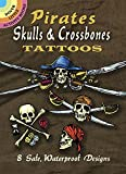 Pirate Skulls & Crossbones Tattoos (Dover Tattoos)