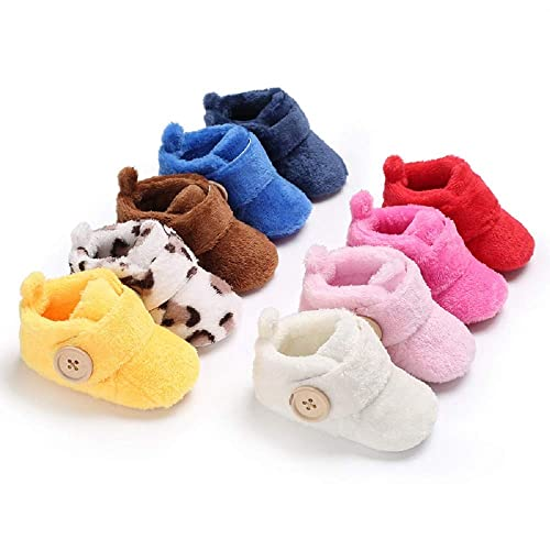 b3a9897108ea8 Image Unavailable. Image not available for. Color  Baby Premium Soft Sole  Anti-Slip Shoes Mid Calf Warm Winter Infant Prewalker ...