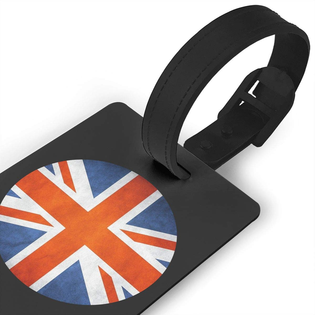 Flag Of England Flag Luggage Tag Travel Suitcases Bag Tags For Mens Womens Baby Strollers