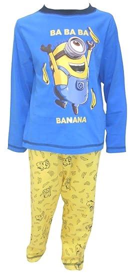 Minions Despicable Me Big Boys Pajamas 5-6 Years