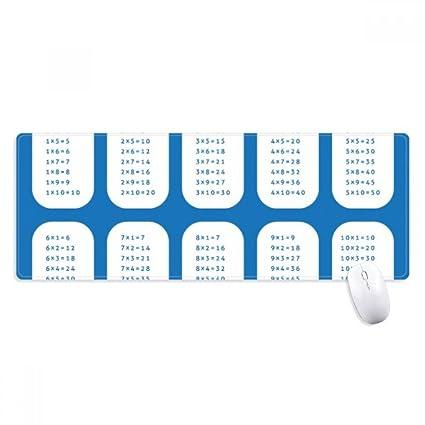 Amazon Multiplication Table Number Study Math Non Slip