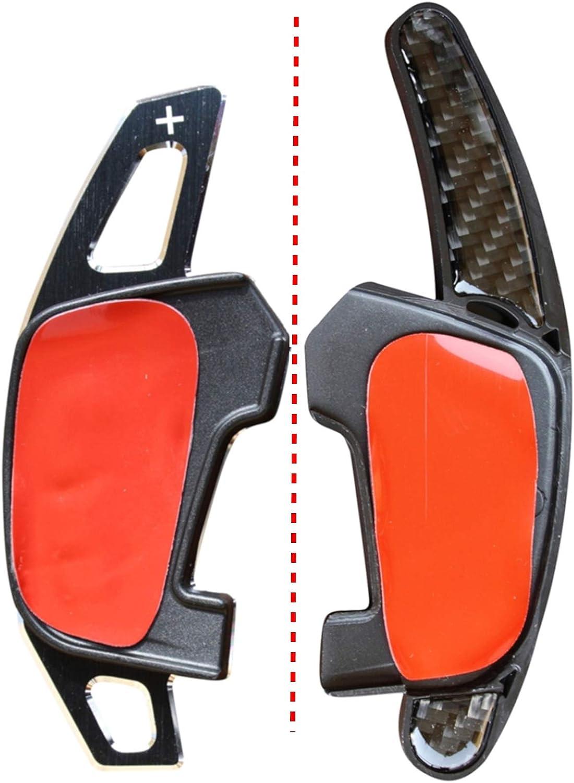 LED-Mafia 2X Schaltwippen DSG Schaltung 1a Verl/ängerung Shift Paddle Alu geb/ürstet