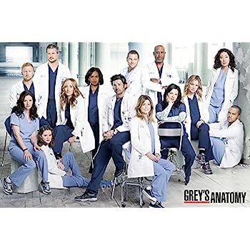 Amazon.com: Posters USA - Grey\'s Anatomy TV Series Show Poster ...