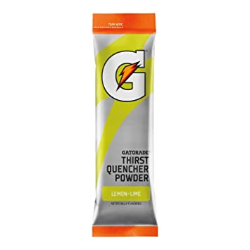 27036a17c0fbce Image Unavailable. Image not available for. Color  Gatorade Thirst Quencher  Powder Packs - Lemon Lime (24 ...