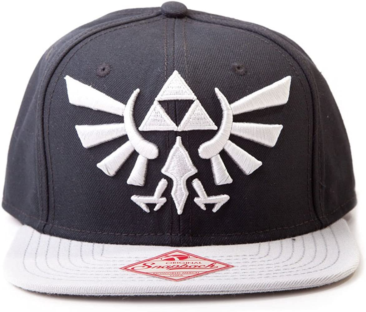 Flashpoint AG Casquette Snap Back Legend of Zelda Visera, Multicolor (Multicolor Multicouleur), Talla única Unisex Adulto