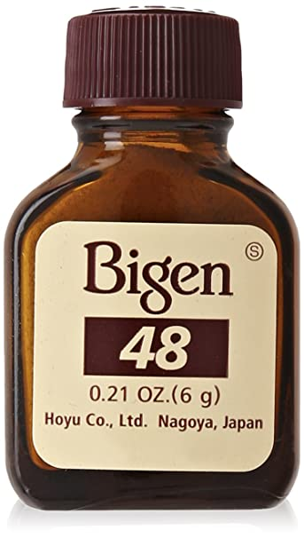 Amazon.com : Bigen Hair Color #88 Blue Black : Chemical Hair Dyes : Beauty