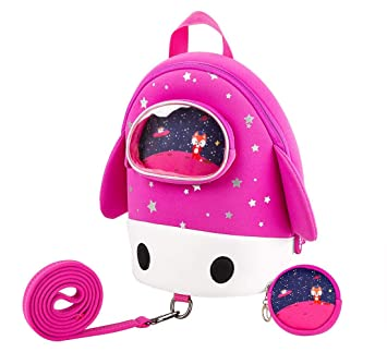 JiePai Toddler Backpack with Safety Harness Leash 046d352acd731