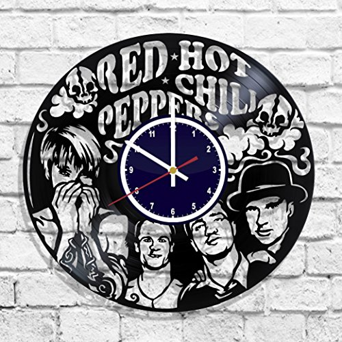 Red Hot Chili Peppers rock band wall clock, Red Hot Chili Peppers band decal, Red Hot Chili Peppers poster (Rock Band Red Hot Chili Peppers Dlc)