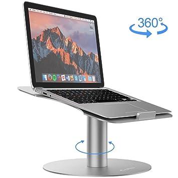 YFW Soporte para ordenador portátil, soporte para MacBook, soporte de aluminio para ordenador portátil