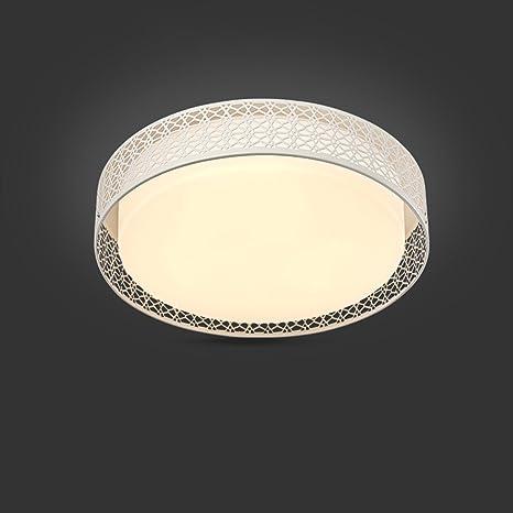 yxhflo plafón circular LED luz cálida cámara principal y un ...