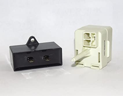 AP5787784 REFRIGERATOR START RELAY OVERLOAD /& CAPACITOR KIT