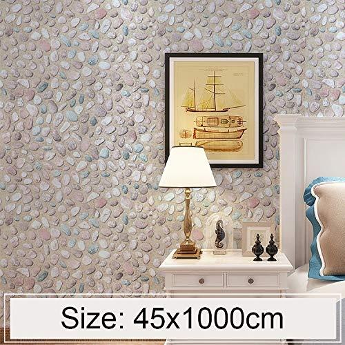 Perfect House Elegante Pegatinas de Papel Pintado Adoquín Creativo 3D Piedra Ladrillo Decoración Dormitorio Sala de Estar...