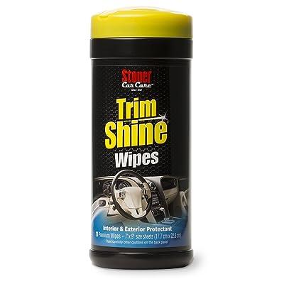 Stoner Car Care 90034 Trim Shine Protectant Wipes - 28-Count: Automotive