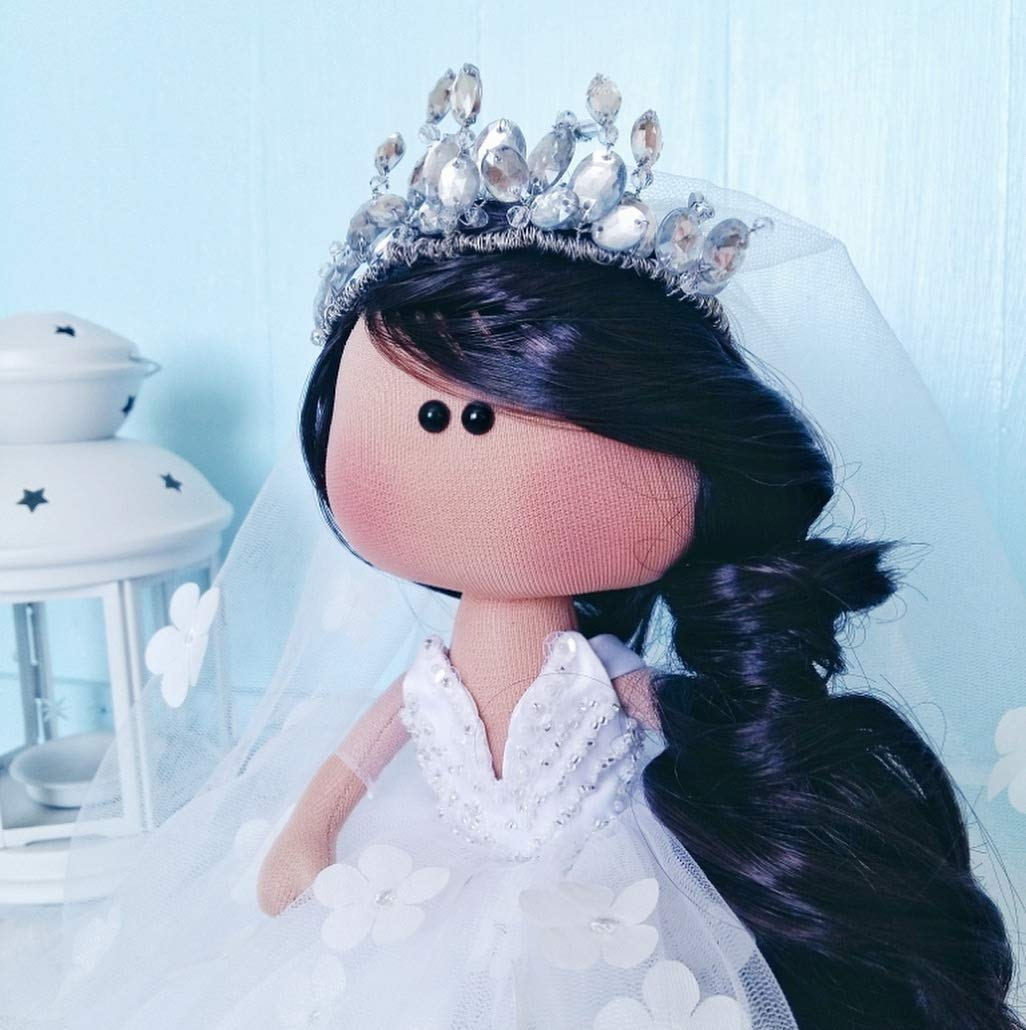 Interior doll bride creative gift for the wedding day Marry me