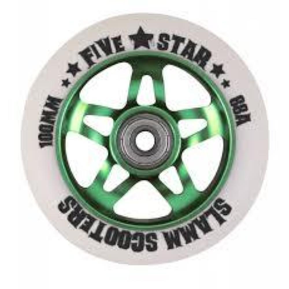 Slamm Scooters Five Star - Rueda para patinete (núcleo de ...