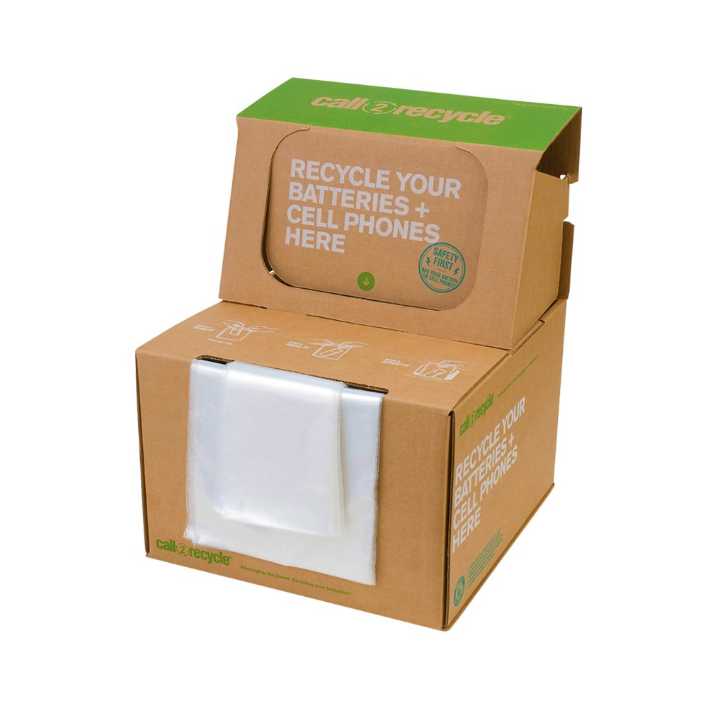 Large Battery & Cellphone Recycling Box