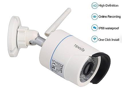 Tenvis TH692 Cámara IP de vigilancia HD 720p 1280x720 H.264 CMOS 1/4