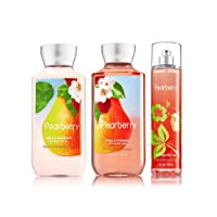 Bath & Body Works Pearberry Lotion, Gel & Mist Gift Set