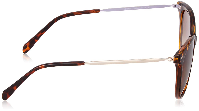 54 Femme Fossil Fos 3083//S Montures de lunettes Dkhavana Multicolore