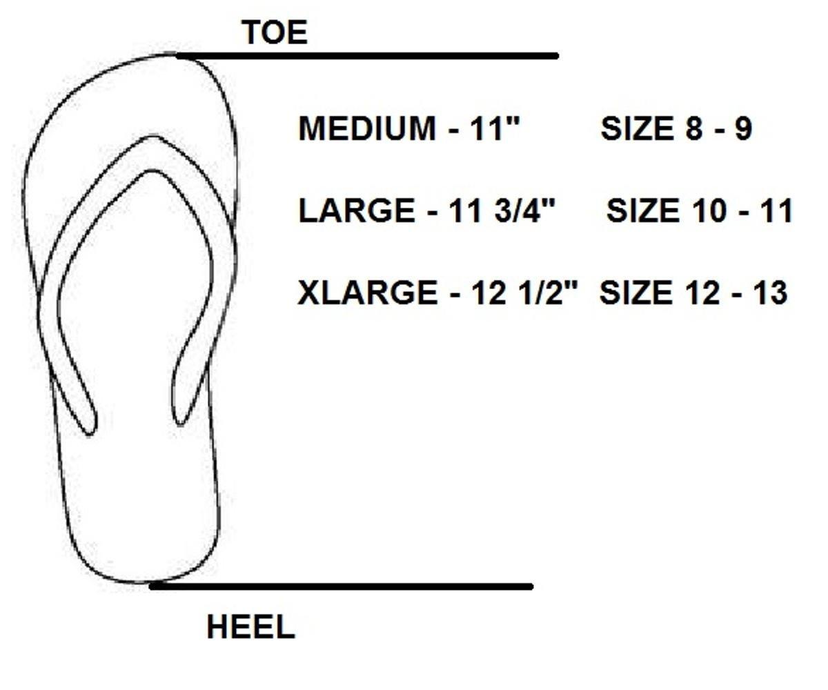 Shower Shoez Men's Antimicrobial Non-Slip Pool Dorm Water Sandals Flip Flops (XLarge 12/13, Grey/Blue) by Shower Shoez (Image #3)