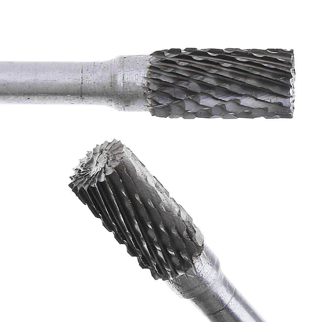 Yintiod 10 mm Fresa cil/índrica de metal duro